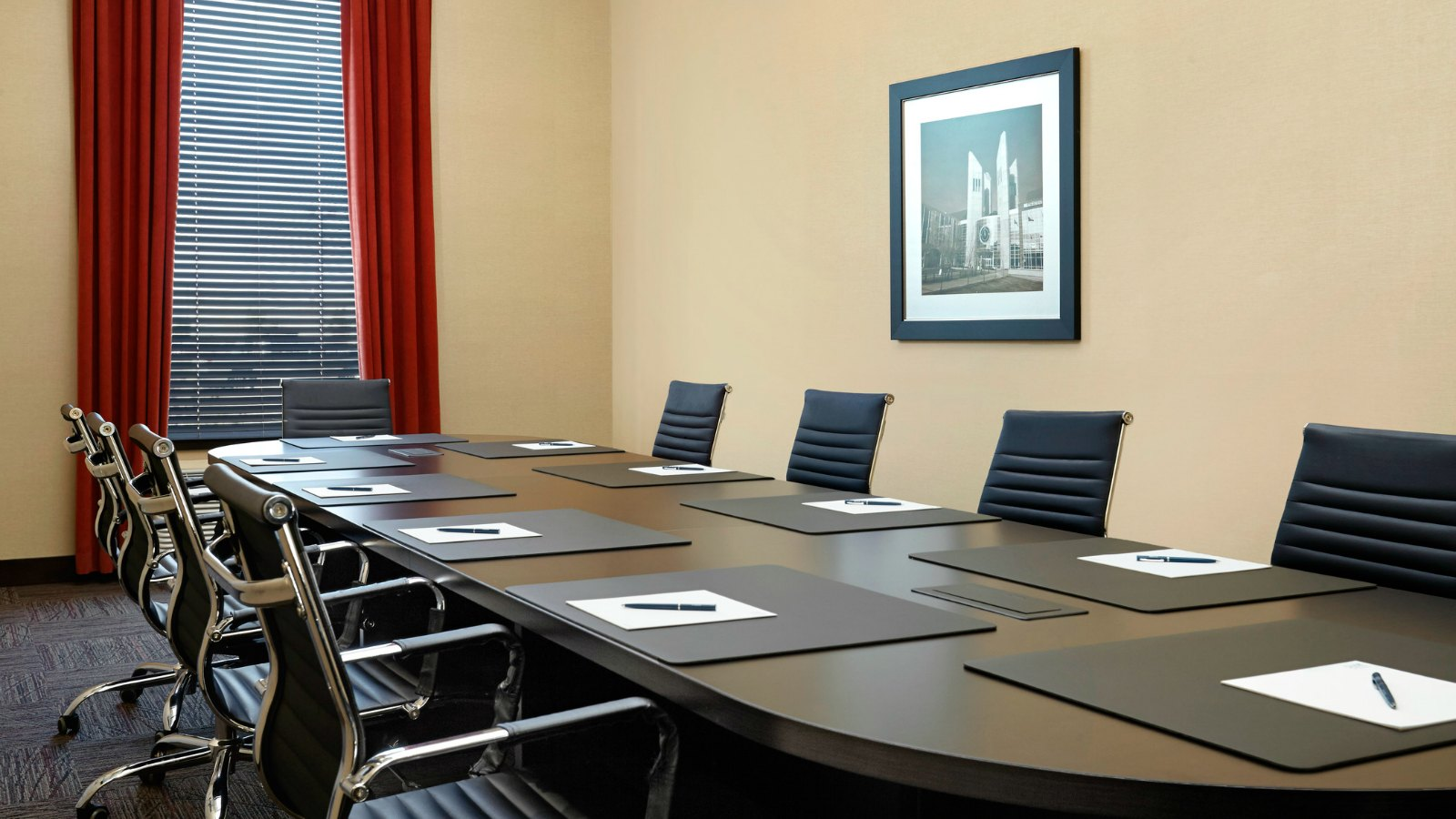 Meeting Rooms Edmonton - Boardroom